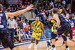 Lamont DaSean JONES (#20 MHP Riesen Ludwigsburg) \Brad LOESING (#35 S.Oliver Baskets Wuerzburg) \Kresimir LONCAR (#11 S.Oliver Baskets Wuerzburg) \ beim Spiel in der BBL, MHP Riesen Ludwigsburg - S.Oliver Baskets Wuerzburg.<br /> <br /> Foto &copy; PIX-Sportfotos *** Foto ist honorarpflichtig! *** Auf Anfrage in hoeherer Qualitaet/Aufloesung. Belegexemplar erbeten. Veroeffentlichung ausschliesslich fuer journalistisch-publizistische Zwecke. For editorial use only.