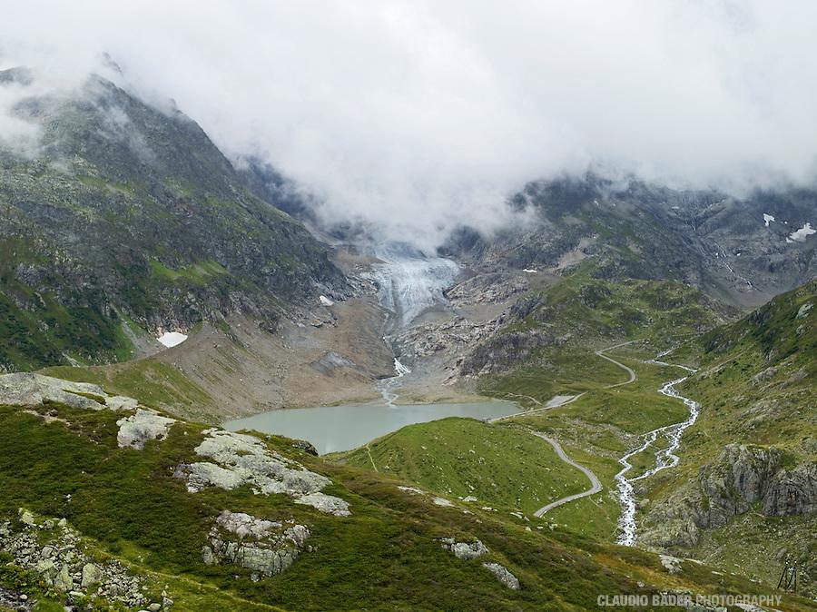Switzerland; Berne; Uri; Sustenpass; Swiss Alpine Pass, Susten, Mountain pass