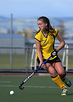 Action from the National Women's Association Under-18 Hockey Tournament 7th place playoff match between Auckland and Taranaki at Twin Turfs in Clareville, New Zealand on Saturday, 15 July 2017. Photo: Dave Lintott / lintottphoto.co.nz
