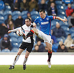 Lee McCulloch and Michael Moffatt