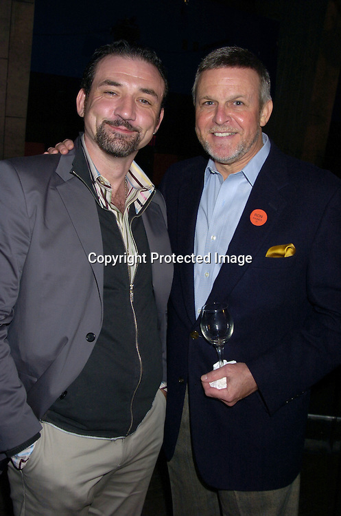 Ritchie Coster and Ron Raines ..at the P and G Party for The Hot Men of As The World Turns and Guiding Light on April 21, 2005 at Crobar. ..The Party was planned by David Turtura and was filmed for his TV Show on The Discovery Channel. Some of the Soap Stars helped set up the party.           Photo by Robin Platzer, Twin Images
