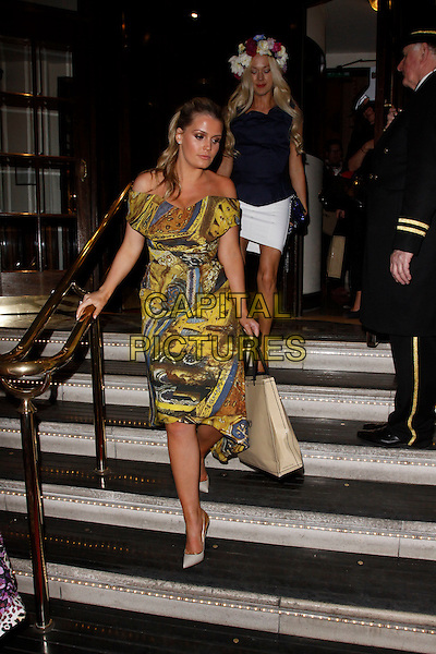 LONDON, ENGLAND - APRIL 28 :  Lady Kitty Spencer leaves the Tatler Best of British - party at The Ritz on April 28, 2015 in London, England.<br /> CAP/AH<br /> &copy;Adam Houghton/Capital Pictures