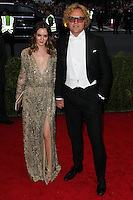"NEW YORK CITY, NY, USA - MAY 05: Leighton Meester, Peter Dundas at the ""Charles James: Beyond Fashion"" Costume Institute Gala held at the Metropolitan Museum of Art on May 5, 2014 in New York City, New York, United States. (Photo by Xavier Collin/Celebrity Monitor)"