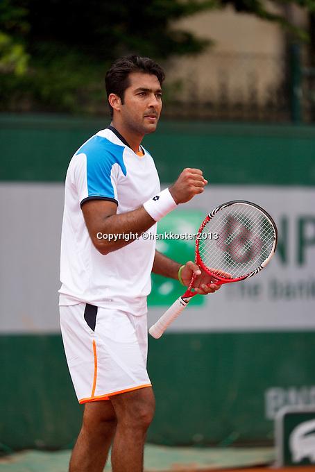 01-06-13, Tennis, France, Paris, Roland Garros,  Aisam-ul-haq Qureshi