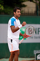 01-06-13, Tennis, France, Paris, Roland Garros,  Aisam-ul-haq Qureshi