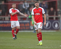Fleetwood Town's players look dejected<br /> <br /> Photographer Mick Walker/CameraSport<br /> <br /> The EFL Sky Bet League One - Fleetwood Town v Luton Town - Saturday 16th February 2019 - Highbury Stadium - Fleetwood<br /> <br /> World Copyright © 2019 CameraSport. All rights reserved. 43 Linden Ave. Countesthorpe. Leicester. England. LE8 5PG - Tel: +44 (0) 116 277 4147 - admin@camerasport.com - www.camerasport.com