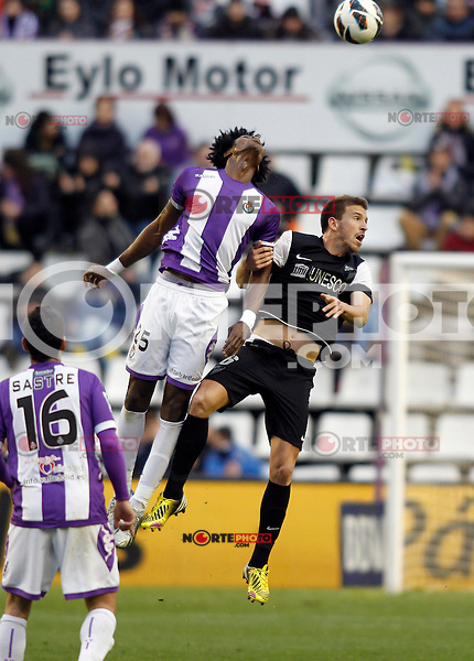 Manucho, Real Valladolid V Malaga CF match of La Liga 2012/13. 09/03/2012. Victor Blanco/Alterphotos