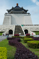 The most prominent historical landmark in Taiwan, the CKS Memorial Hall was erected in honor and memory of Generalissimo Chiang Kai-shek, the former President of the Republic of China, and was opened in 1980