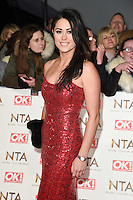 Sam Quek<br /> at the National TV Awards 2017 held at the O2 Arena, Greenwich, London.<br /> <br /> <br /> &copy;Ash Knotek  D3221  25/01/2017