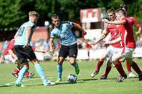 ANNEN - Voetbal, Annen - FC Groningen, voorbereiding seizoen 2017-2018, 09-07-2017, FC Groningen speler Tom van Weert en FC Groningen speler Jesper Drost