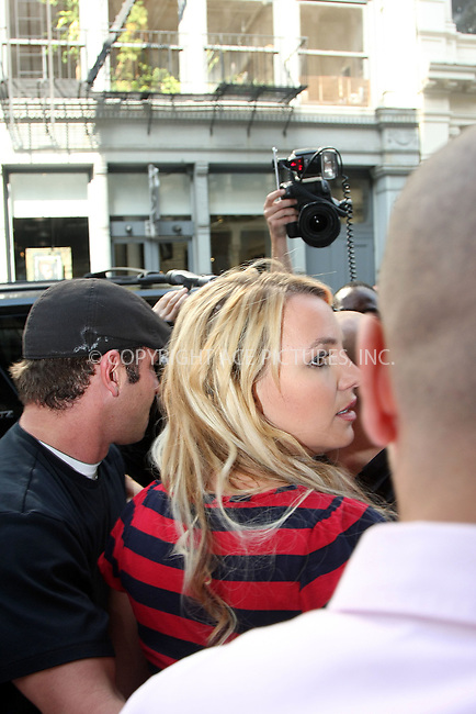 WWW.ACEPIXS.COM ** ** ** ....September 30 2008, New York City....Singer Britney Spears tried to visit a store on Prince Street in Soho, but was unable to reach it because of the throng of photographers. Spears is in New York to promote her latest album. September 30 2008, New York City.....Please byline: STAN ROSE -- ACEPIXS.COM.. *** ***  ..Ace Pictures, Inc:  ..tel: (646) 769 0430..e-mail: info@acepixs.com..web: http://www.acepixs.com