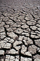 Drought, parched earth