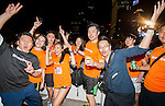 The party after the Bloomberg Square Mile Relay near the Huangpu River in Shanghai, China.  Photo by Marcio Machado / Power Sport Images