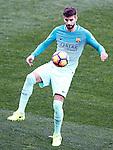 FC Barcelona's Gerard Pique during La Liga match. February 26,2017. (ALTERPHOTOS/Acero)