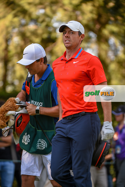 Rory McIlroy (NIR) heads down 8 during round 1 of the World Golf Championships, Mexico, Club De Golf Chapultepec, Mexico City, Mexico. 2/21/2019.<br /> Picture: Golffile | Ken Murray<br /> <br /> <br /> All photo usage must carry mandatory copyright credit (© Golffile | Ken Murray)