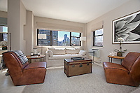 Living Room at 357 East 57th Street