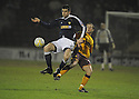 11/02/2008    Copyright Pic: James Stewart.File Name : sct_jspa01_motherwell_v_dundee.DUNDEE'S MILAN PALENIK AND ROSS MCCORMACK CHALLENGE.James Stewart Photo Agency 19 Carronlea Drive, Falkirk. FK2 8DN      Vat Reg No. 607 6932 25.Studio      : +44 (0)1324 611191 .Mobile      : +44 (0)7721 416997.E-mail  :  jim@jspa.co.uk.If you require further information then contact Jim Stewart on any of the numbers above........