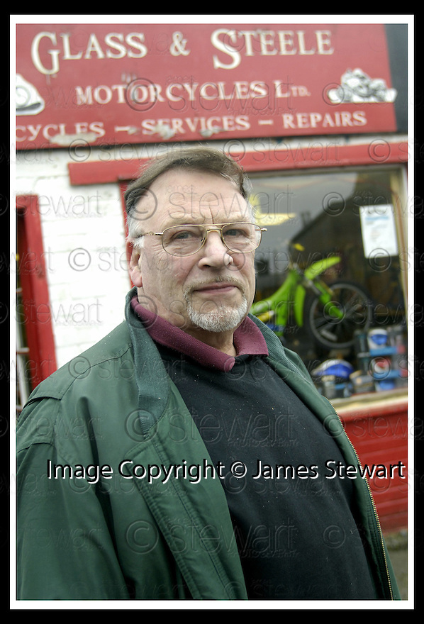 24/01/2007       Copyright Pic: James Stewart.File Name : sct_jspa04_alloa.A RECENT REPORT CLAIMS THAT ALLOA TOWN CENTRE IS ONE OF THE  HARDEST HIT BY THE OPENING OF NEW OUT OF TOWN SUPERMARKETS..... PIC SHOWS BIKE SHOP OWNER JOHN GLASS, WHO CLAIMS THAT HE IS BEING PRCED OUT F THE MARKET BY THE LARGER SUPERSTORES.....James Stewart Photo Agency 19 Carronlea Drive, Falkirk. FK2 8DN      Vat Reg No. 607 6932 25.Office     : +44 (0)1324 570906     .Mobile   : +44 (0)7721 416997.Fax         : +44 (0)1324 570906.E-mail  :  jim@jspa.co.uk.If you require further information then contact Jim Stewart on any of the numbers above.........