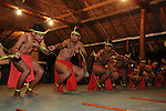 Palau, Micronesia -- Palauan dance performance.