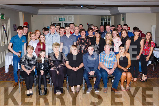 Darran Nagle, Rathmore celebrated his 21st birthday with his family and friends in the Torc Hotel Killarney on Friday night
