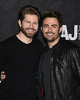 "10 January 2020 - Beverly Hills, California - Jaymes Vaughan and Jonathan Bennett. Netflix's ""AJ And The Queen"" Season 1 Premiere at The Egyptian Theatre in Hollywood. Photo Credit: Billy Bennight/AdMedia"