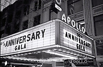 Apollo Theatre during the taping of the television special 'Motown Returns to the Apollo,' Harlem, New York, May 4, 1985.