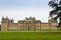 Blenheim Palace home of Duke of Marlborough, birthplace of Sir Winston Churchill, built 1705 Architect Vanbrugh