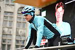 Jakob Fuglsang (DEN) Astana Pro Team at sign on before the start of the 105th edition of Liège-Bastogne-Liège 2019, La Doyenne, running 256km from Liege to Liege, Belgium. 28th April 2019<br /> Picture: ASO/Gautier Demouveaux | Cyclefile<br /> All photos usage must carry mandatory copyright credit (© Cyclefile | ASO/Gautier Demouveaux)