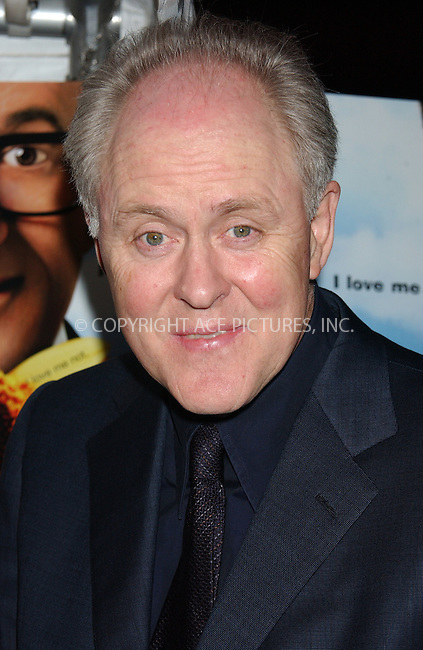 WWW.ACEPIXS.COM . . . . . ....NEW YORK, NOVEMBER 19, 2004....John Lithgow at the premiere of The Life and Death of Peter Sellers.....Please byline: ACE006 - ACE PICTURES.. . . . . . ..Ace Pictures, Inc:  ..Alecsey Boldeskul (646) 267-6913 ..Philip Vaughan (646) 769-0430..e-mail: info@acepixs.com..web: http://www.acepixs.com