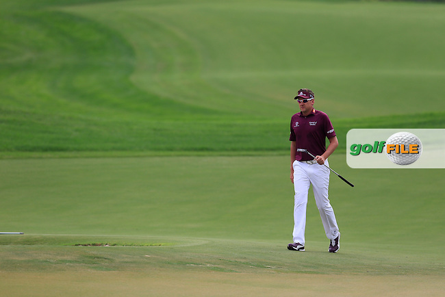 Ian Poulter (ENG) during round 4 of the DP World, Tour Championship, Dubai, UAE.<br /> Picture: Fran Caffrey www.golffile.ie
