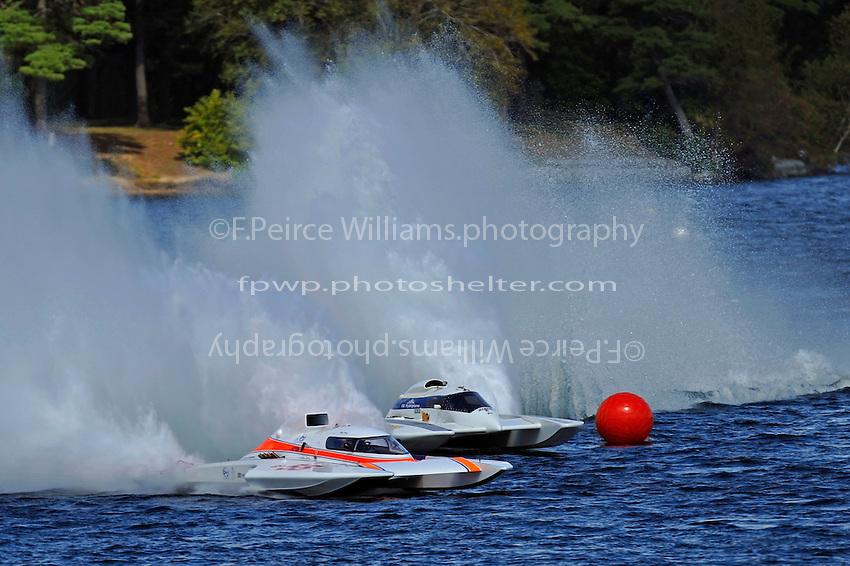 "Mike Weber, GP-55 ""My Way"" and Tom Pakradooni, GP-88, ""Rolling Thunder""(Grand Prix Hydroplane(s)"