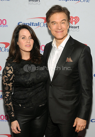 NEW YORK, NY - DECEMBER 9 : Dr. Mehmet Oz and Lisa Oz at the Z100 Jingle Ball 2016 at Madison Square Garden in New York City on December 9, 2016. Credit: John Palmer/MediaPunch