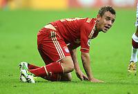 FUSSBALL  DFB POKAL       SAISON 2012/2013 FC Bayern Muenchen - 1 FC Kaiserslautern  31.10.2012 Rafinha (FC Bayern Muenchen)