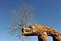 09/02/11 - SAUGUES - HAUTE LOIRE - FRANCE - La bete du Gevaudan - Photo Jerome CHABANNE