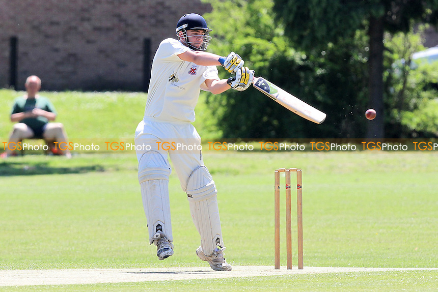 J Sorrell in batting action for Hornchurch - Hornchurch CC vs Loughton CC - Essex Cricket League at Harrow Lodge - 26/05/12 - MANDATORY CREDIT: Gavin Ellis/TGSPHOTO - Self billing applies where appropriate - 0845 094 6026 - contact@tgsphoto.co.uk - NO UNPAID USE.