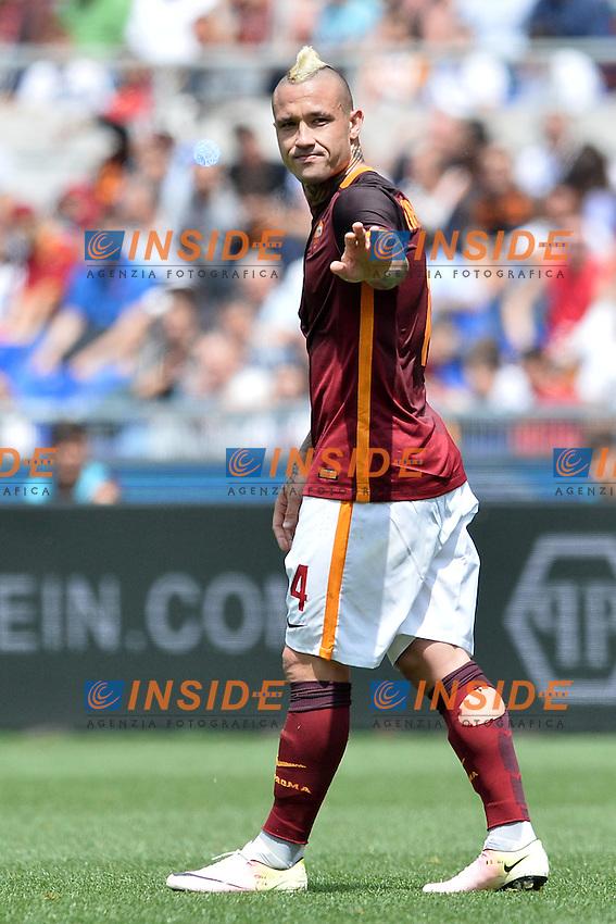 Radja Nainggolan Roma.<br /> Roma 8-05-2016  Stadio Olimpico<br /> Campionato Serie A,<br /> AS Roma - Chievo<br /> Foto Antonietta Baldassarre / Insidefoto