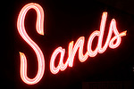 Sands Motel Neon Sign, Yucca Valley, California