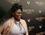 Danielle Brooks attends the Broadway Opening Day performance of 'Harry Potter and the Cursed Child Parts One and Two' at The Lyric Theatre on April 22, 2018 in New York City.