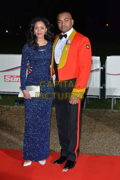 LONDON, ENGLAND - DECEMBER 10: Johnson Beharry  attends A Night Of Heroes: The Sun Military Awards at National Maritime Museum on December 10, 2014 in London, England.<br /> CAP/PL<br /> &copy;Phil Loftus/Capital Pictures