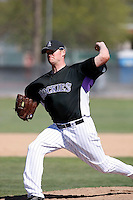 Matthew Reynolds - Colorado Rockies - 2009 spring training.Photo by:  Bill Mitchell/Four Seam Images