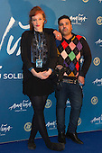 London, UK. 19 January 2016. Kate Rothschild and Naughty Boy. Celebrities arrive on the red carpet for the London premiere of Amaluna, the latest show of Cirque du Soleil, at the Royal Albert Hall.