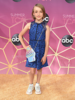 05 August 2019 - West Hollywood, California - Marlow Barkley. ABC's TCA Summer Press Tour Carpet Event held at Soho House.   <br /> CAP/ADM/BB<br /> ©BB/ADM/Capital Pictures