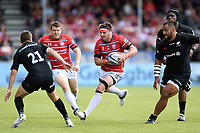 Jaco Kriel of Gloucester Rugby in possession. Gallagher Premiership Semi Final, between Saracens and Gloucester Rugby on May 25, 2019 at Allianz Park in London, England. Photo by: Patrick Khachfe / JMP