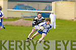 Ardfert's v Desmonds in their County League Division One relegation play-off against Castleisland Desmonds at Keel on Sunday.