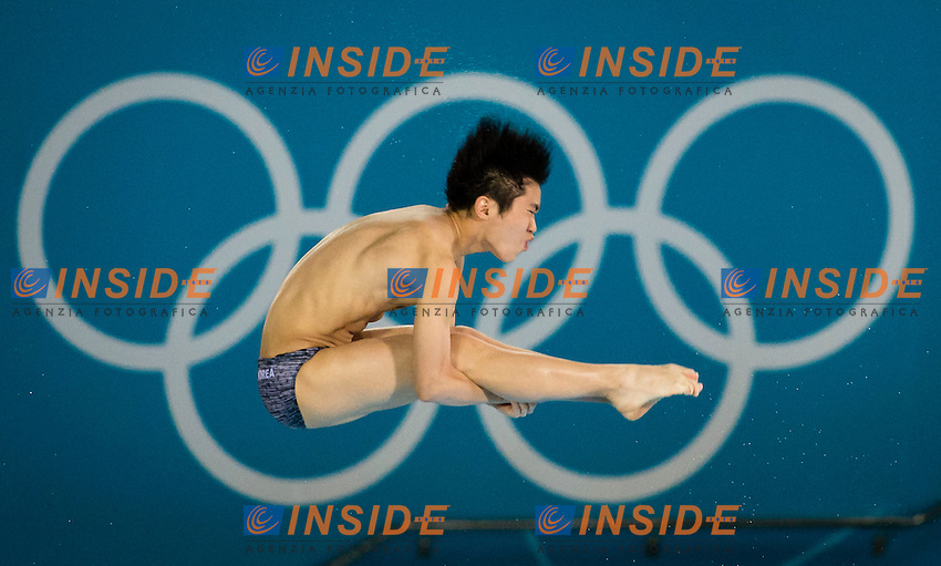 PARK Jiho Korea.Diving 10 m. platform men preliminary round.London 2012 Olympics - Olimpiadi Londra 2012.day 15 Aug.10.Photo G.Scala/Deepbluemedia.eu/Insidefoto