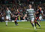 James Forrest celebrates his goal