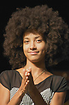 Jazz bassist Esperanza Spalding performs in concert