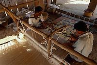 Teppichweber, Sarwas bei Jodhpur (Rajasthan), Indien