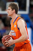 Valencia Basket Club's Justin Doellman during Spanish Basketball King's Cup match.February 07,2013. (ALTERPHOTOS/Acero) /NortePhoto