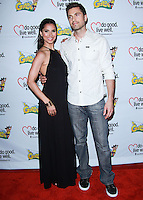 "WESTWOOD, LOS ANGELES, CA, USA - JUNE 21: Roselyn Sanchez, Eric Winter at the Los Angeles Premiere Of ""La Golda"" held at The Crest on June 21, 2014 in Westwood, Los Angeles, California, United States. (Photo by David Acosta/Celebrity Monitor)"